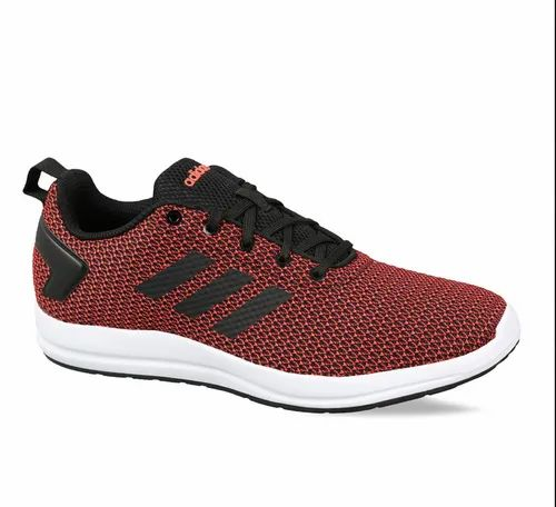 Red And White Adidas Mens Running Adistark 3.0 Shoes,   ID ...