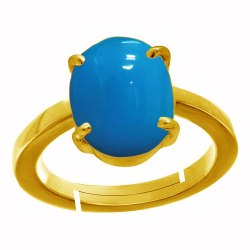 Firoza Stone Ring Asthdhatu Gemstone
