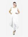 White Dhoti Fall Dress