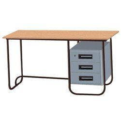 Metal Steel Frame Office Table, 1 Year