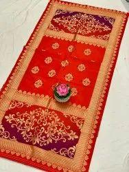 Multicolour Banarasi Silk Dupatta