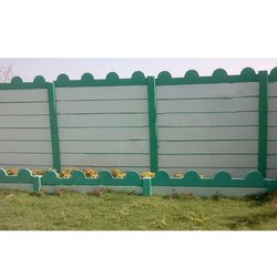8 Feet Prefabricated Folding Compound Wall