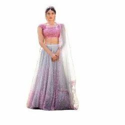 Designer Lehenga Choli Pink Bridal Lahenga Wedding Lahenga Choli
