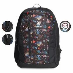 Geometry-Blk School Bag
