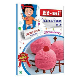 Strawberry Instant Ice Cream Mix100g