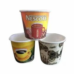 Multicolor 85ml Printed Paper Tea Cup, Packet Size: 50 Pieces /Packet, Capacity: 85 ml