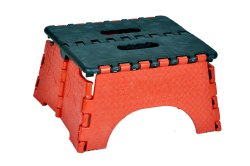 CPP Plastic Folding Small Stool for Home, Warranty: 1 Year