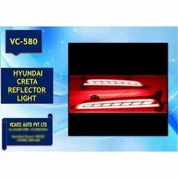 Hyundai Creta Red Reflector Light