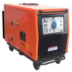 Mahindra Power Silent or Soundproof Portable Diesel Generator, Voltage: 240v
