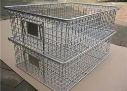 S S 304 Grade Stainless Steel Wire Basket