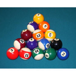 Pool 9 Ball Set, Table Sports & Board Games | Q Cafe Snooker in ...