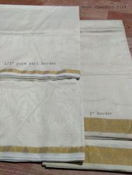 Dyeable Chanderi Silk Fabric