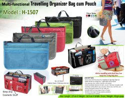 Travel Pouch and Organizer
