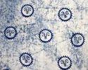 Mud Resist Cotton Batik Fabric