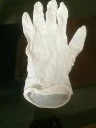 Disposal surgical gloves powder based