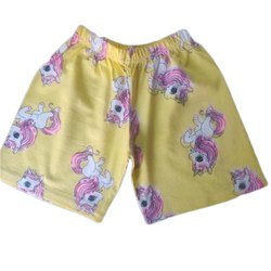 Kids Casual Printed Cotton Shorts, Age: 0 To 3 Year