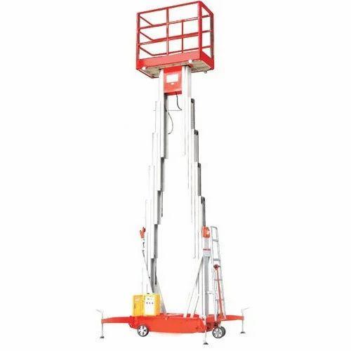 Vanjax Cast Iron Dual Mast Aerial Work Platform