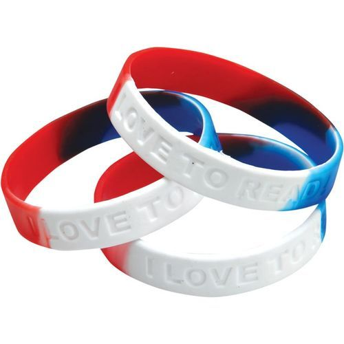 We specialise in promo silicone wristbands custom wrist bands debossed 80 bands