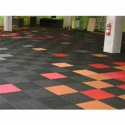 Multicolor  Office Carpet Tile