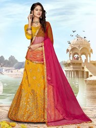 Pr Fashion Launched Designer Silk Based Lehenga Choli