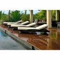 Pool Side Cane Furniture