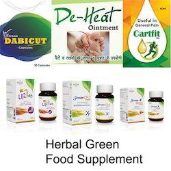 Herbal Green Food Supplement