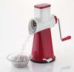 Rotary Manually Operated Grater & Slicer