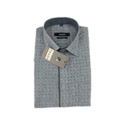 Men Grey Printed Shirt