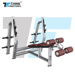Olympic Decline Bench Gym Machine, for Muscle Gain