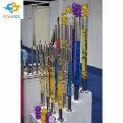 SS304 Acrylic Master Pillar
