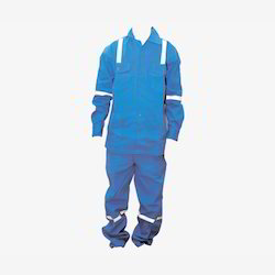 Medium Blue Men Work Wear