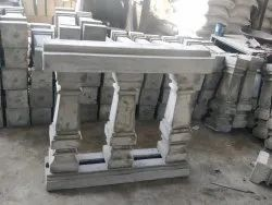 RCC Concrete Baluster with Railing