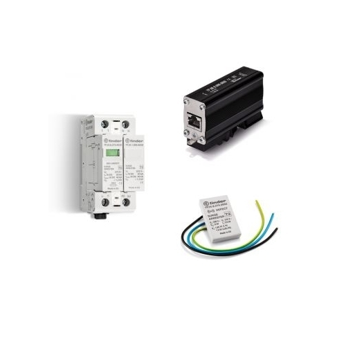 Finder 7P 68 9 060 0600 250 MHz Series 7P Surge Protection