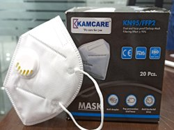 Kamcare KN95 Anti Bacterial Face Mask With Respirators