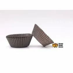 11cm Brown Colour Cup Cake Liner Box