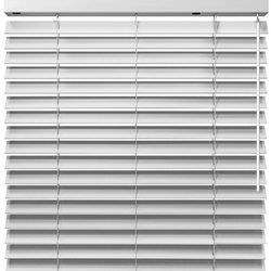 Plain White Curtain Blind For Home, Office