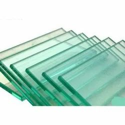 Transparent Toughened Glass, Shape: Rectangle, Thickness: 1-10 mm