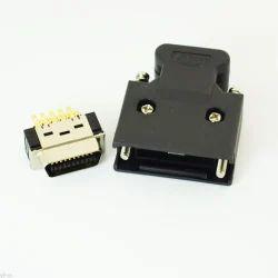 Aashu Black MDR Connector
