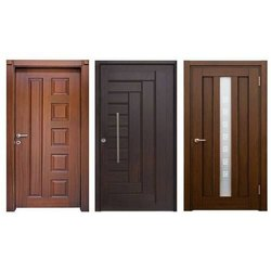 Hinged Brown Sintex Decorative PVC Door