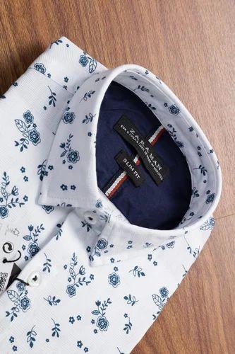 f00ba345 Zara Man White Blue Pink Mens Printed Shirts, Rs 400 /unit | ID ...