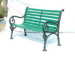 Outdoor Cast Iron Bench