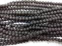 Lava Round Smooth Gemstone Beads