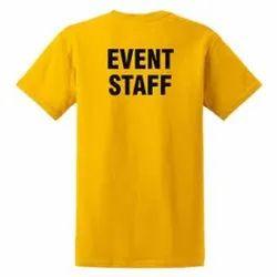 Yellow T Shirt Printing Service