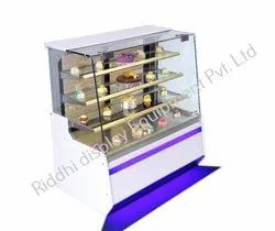 Riddhi Stainless Steel Bakery Display Cabinets, Warranty: 1 Year