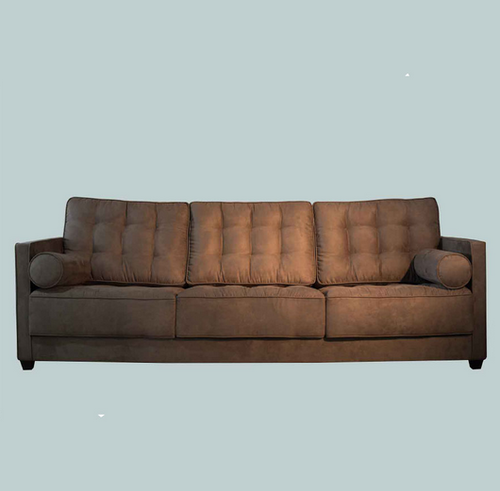 Dublin Sofa Set Brown 3 Seater