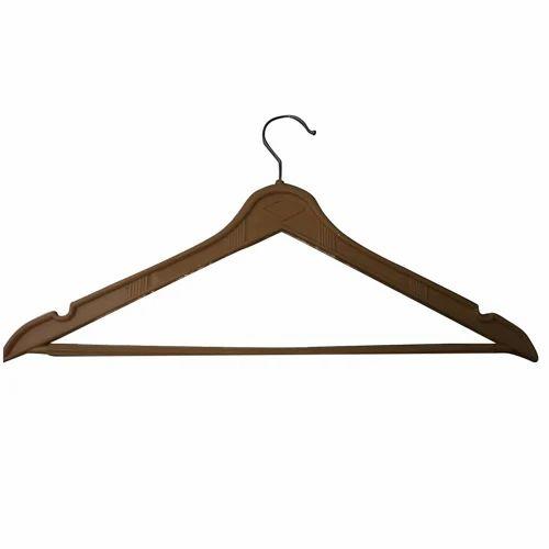 Brown Plastic Hanger