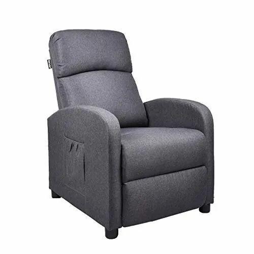 Gray Foam Inner Recliner Sofa Chair