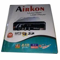 Airkon Multimedia USB Player, Packaging Type: Box