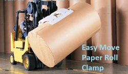 Paper Roll Clamp