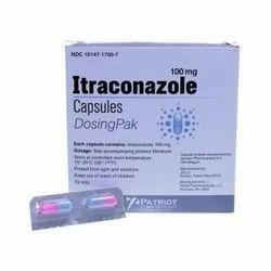 Patriot 100Mg Itraconazole Capsules, Prescription